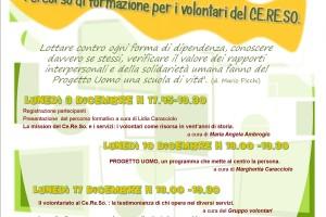 locandina volontari cereso 2012